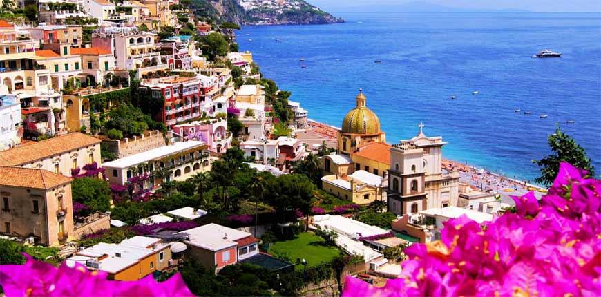 Il meraviglioso paesaggio della Costiera Amalfitana