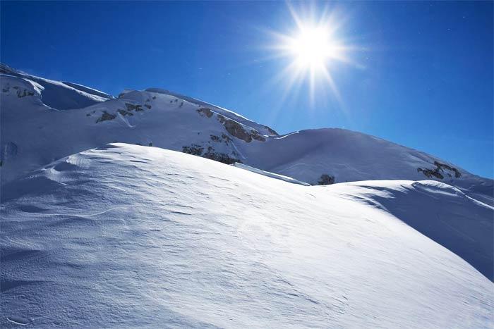Settimana bianca sul monte pi� alto d�Europa