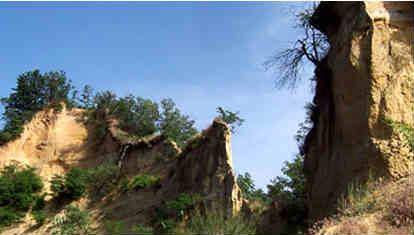 Nelle Rocche del Roero, tra fossili e tartufi nel basso Piemonte