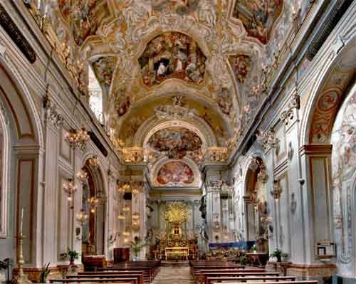 Itinerario: Sito Storico Monastero San Benedetto, via Crociferi - Catania