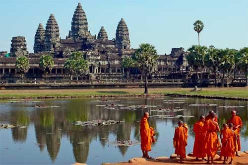 Alla scoperta della �foresta di pietra� in Cambogia